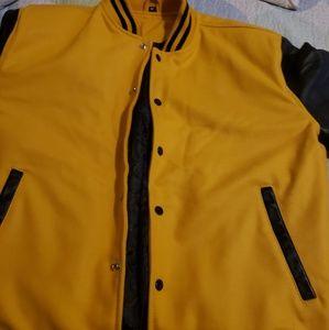 Yellow/black Diversity College jacket